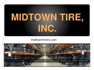 Wholesale Distributor of Tires in Rochester, NY
