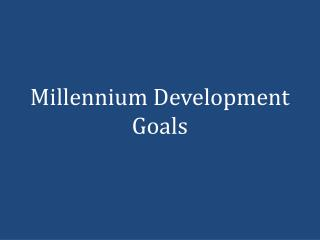 nursing and millennium goals The nurse manager is in charge of a nursing unit,  in technology have made a nurse manager's work even more complex when it comes to reaching goals.