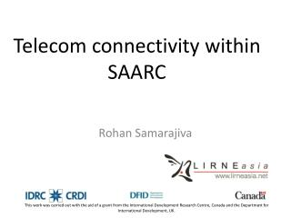 Telecom connectivity within SAARC