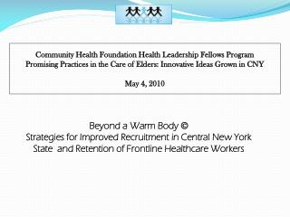 Community Health Foundation Health Leadership Fellows Program