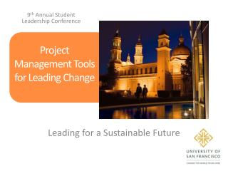 Project Management Tools for Leading Change