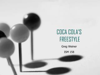 COCA COLA'S  FREESTYLE