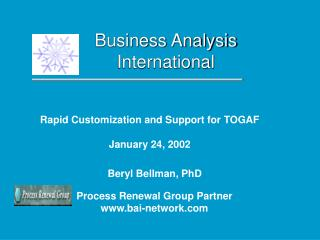 Business Analysis International