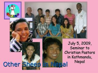 July 5, 2009, Seminar to Christian Pastors in Kathmandu, Nepal