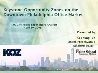 Keystone Opportunity Zones on the Downtown Philadelphia Office Market