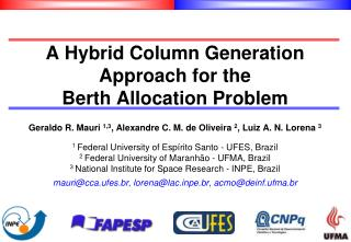 A Hybrid Column Generation Approach for the Berth Allocation Problem