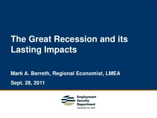 The Great Recession and its Lasting Impacts