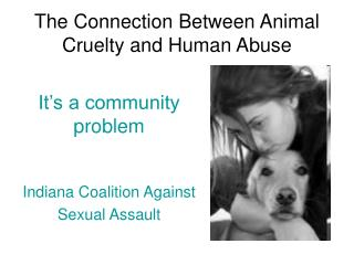 The Connection Between Animal Cruelty and Human Abuse