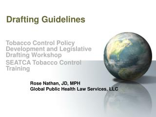 Drafting Guidelines