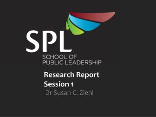 Research Report  Session 1