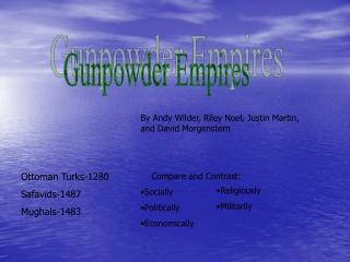 Gunpowder Empires