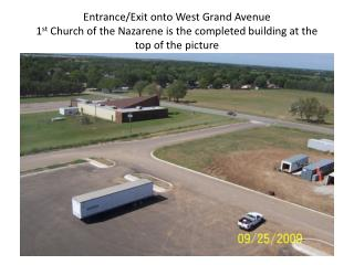 Waverly Drive Entrance, NE Softball Field, Sidewalks and Drives