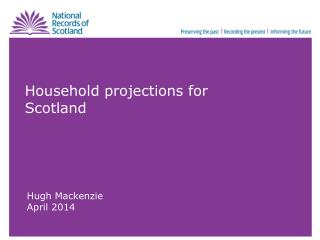 Household projections for Scotland