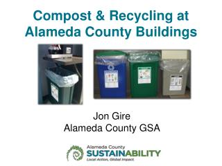Compost & Recycling at Alameda County Buildings