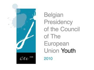Preview of the 2010-2011 Youth Agenda
