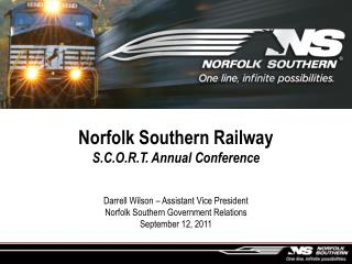 Norfolk Southern Railway S.C.O.R.T. Annual Conference