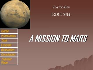 A MISSION TO MARS