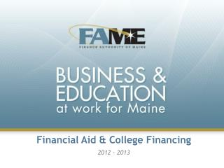 Financial Aid & College Financing