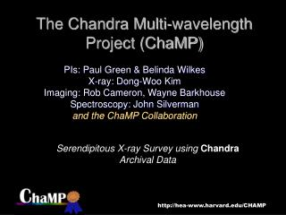 The Chandra Multi-wavelength Project (ChaMP)