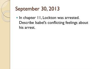 September 30, 2013