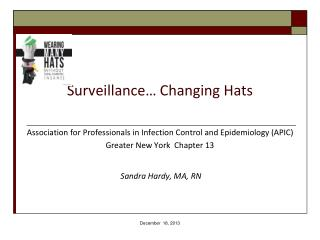 Surveillance… Changing Hats