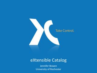 eXtensible Catalog