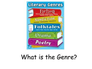 What is the Genre?