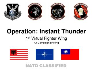 Operation: Instant Thunder