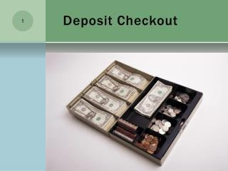 Deposit Checkout