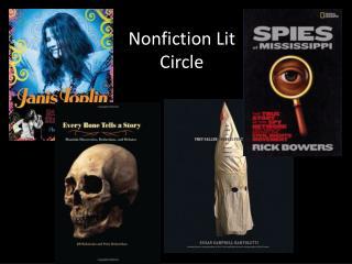 Nonfiction Lit Circle