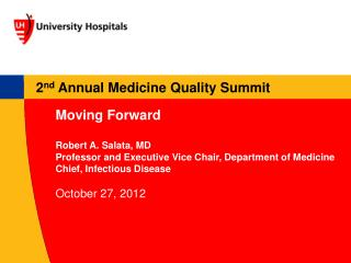 2 nd  Annual Medicine Quality Summit