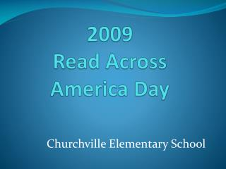 2009  Read  Across America  Day