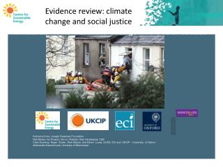 Evidence Review Climate Change and Social Justice