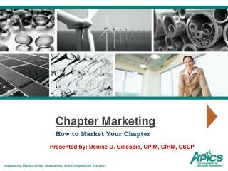 Chapter Marketing
