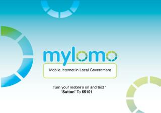 Mobile  Internet in Local Government