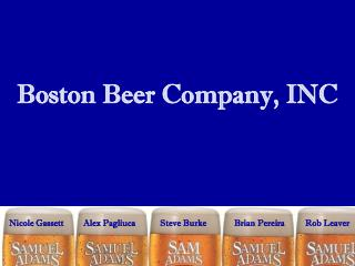 Boston Beer Company, INC
