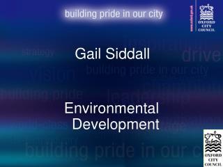 Gail Siddall