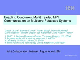 Enabling Concurrent Multithreaded MPI Communication on Multicore Petascale Systems