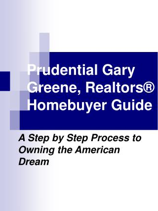 Prudential Gary Greene