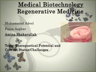 Medical Biotechnology Regenerative Medicine