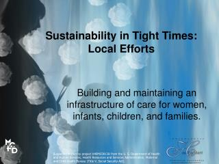 Sustainability in Tight Times: Local Efforts