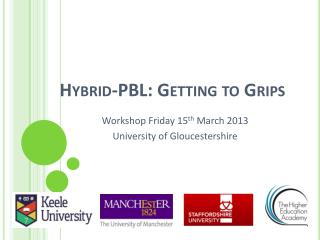 Hybrid-PBL: Getting to Grips