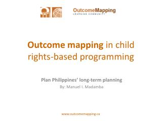 Outcome mapping  in child rights-based programming