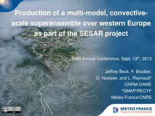 European Convective-Scale EPS