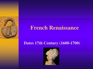 French Renaissance