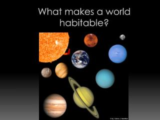 What makes a world habitable?