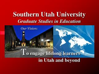 Southern Utah University  Graduate Studies in Education