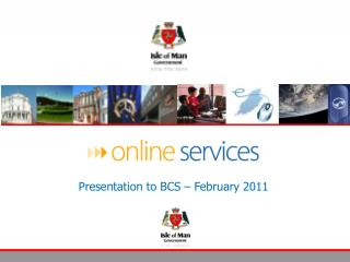 A presentation to Isle of Man Post Office November 2009