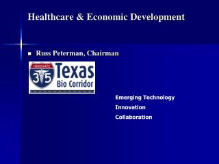 Healthcare & Economic Development
