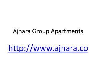 Ajnara Group Apartments